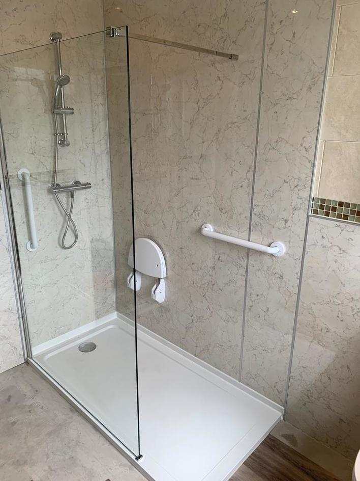 Easy Access Shower