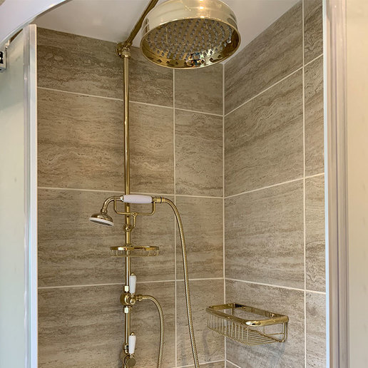 New Antique looking shower